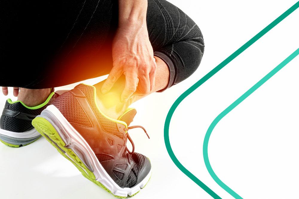 Entorse de tornozelo e a fisioterapia esportiva